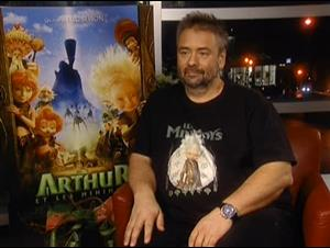 LUC BESSON (ARTHUR AND THE INVISIBLES) Interview Video Thumbnail