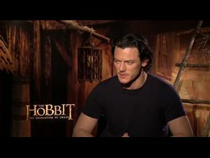 Luke Evans (The Hobbit: The Desolation of Smaug) Interview Video Thumbnail