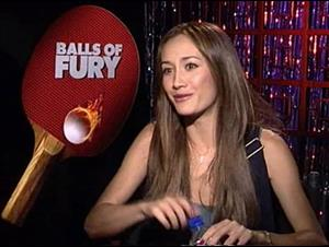Maggie Q (Balls of Fury) Interview Video Thumbnail
