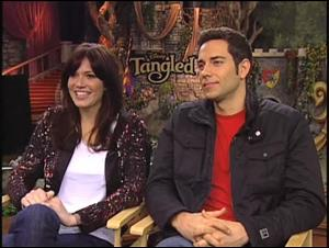 Mandy Moore & Zachary Levi (Tangled) Interview Video Thumbnail