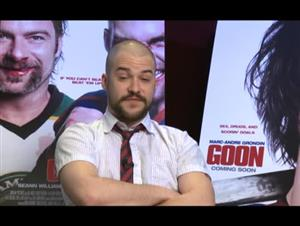 Marc-André Grondin (Goon) Interview Video Thumbnail