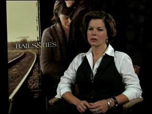 Marcia Gay Harden (Rails & Ties) Interview Video Thumbnail