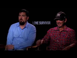 Marcus Luttrell & Peter Berg (Lone Survivor) Interview Video Thumbnail