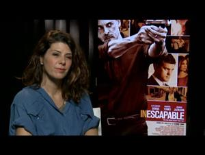 Marisa Tomei (Inescapable) Interview Video Thumbnail