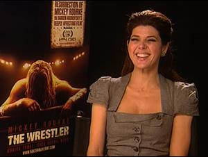 Marisa Tomei (The Wrestler) Interview Video Thumbnail