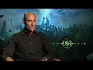 Mark Strong (Green Lantern) Interview Video Thumbnail