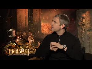 Martin Freeman (The Hobbit: The Desolation of Smaug) Interview Video Thumbnail