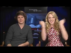Matt Shively & Kathryn Newton (Paranormal Activity 4) Interview Video Thumbnail