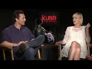 matthew-mcconaughey-charlize-theron-interview-kubo-and-the-two-strings Video Thumbnail