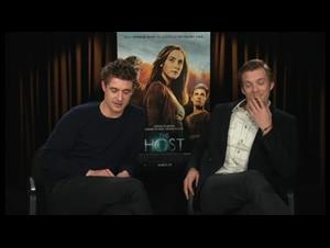 Max Irons & Jake Abel (The Host) Interview Video Thumbnail