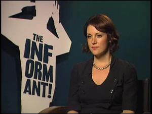 Melanie Lynskey (The Informant!) Interview Video Thumbnail