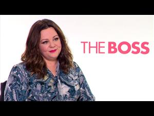 Melissa McCarthy Interview - The Boss Video Thumbnail