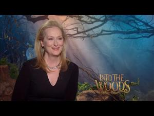 Meryl Streep (Into the Woods) Interview Video Thumbnail