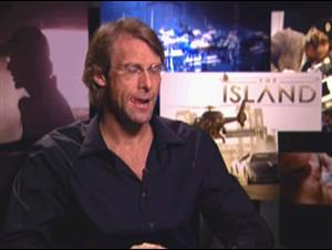 MICHAEL BAY - THE ISLAND Interview Video Thumbnail