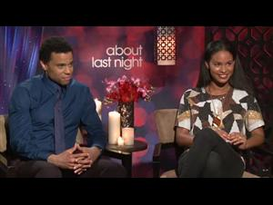 Michael Ealy & Joy Bryant (About Last Night) Interview Video Thumbnail