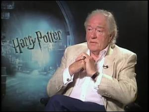 Michael Gambon (Harry Potter and the Half-Blood Prince) Interview Video Thumbnail
