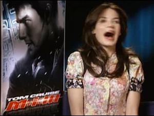 MICHELLE MONAGHAN (M:i:III) Interview Video Thumbnail
