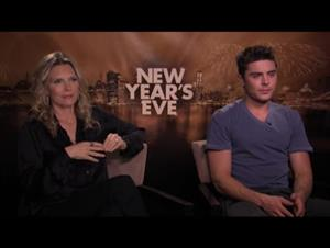Michelle Pfeiffer & Zac Efron (New Year's Eve) Interview Video Thumbnail