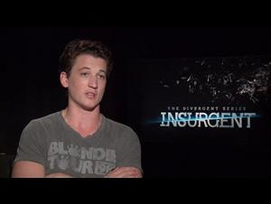 Miles Teller (The Divergent Series: Insurgent) Interview Video Thumbnail