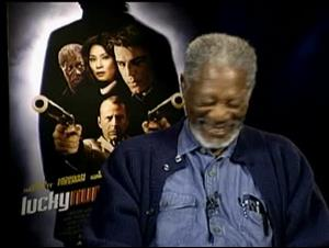 MORGAN FREEMAN (LUCKY NUMBER SLEVIN) Interview Video Thumbnail