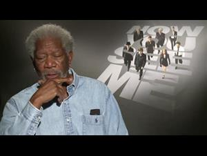 Morgan Freeman (Now You See Me) Interview Video Thumbnail