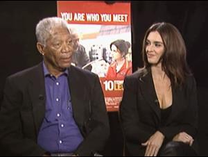 morgan-freeman-paz-vega-10-items-or-less Video Thumbnail