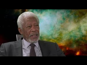 MorganFreeman_Lucy Interview Video Thumbnail
