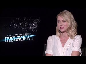 Naomi Watts (The Divergent Series: Insurgent) Interview Video Thumbnail