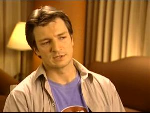 NATHAN FILLION (SLITHER) Interview Video Thumbnail