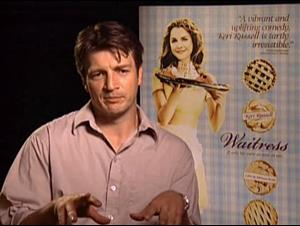 Nathan Fillion (Waitress) Interview Video Thumbnail