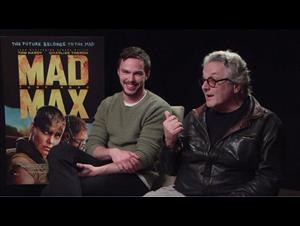Nicholas Hoult & George Miller (Mad Max: Fury Road) Interview Video Thumbnail