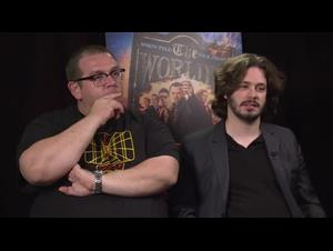 Nick Frost & Edgar Wright Interview Video Thumbnail