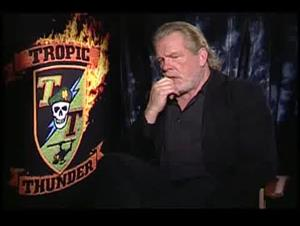 Nick Nolte (Tropic Thunder) Interview Video Thumbnail