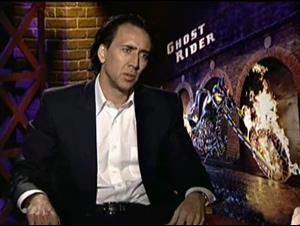 NICOLAS CAGE (GHOST RIDER) Interview Video Thumbnail