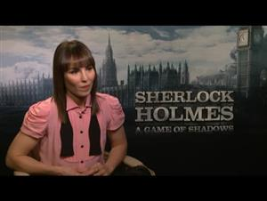 Noomi Rapace (Sherlock Holmes: A Game of Shadows) Interview Video Thumbnail
