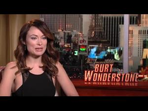 Olivia Wilde (The Incredible Burt Wonderstone) Interview Video Thumbnail