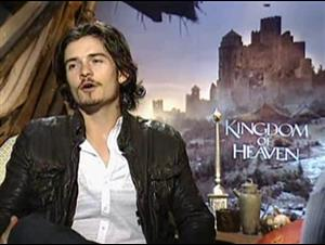 ORLANDO BLOOM - KINGDOM OF HEAVEN Interview Video Thumbnail