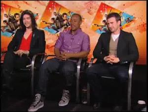 Oscar Jaenada, Columbus Short & Chris Evans (The Losers) Interview Video Thumbnail
