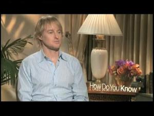 Owen Wilson (How Do You Know) Interview Video Thumbnail