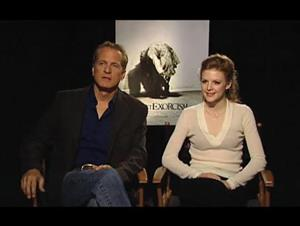 Patrick Fabian & Ashley Bell (The Last Exorcism) Interview Video Thumbnail