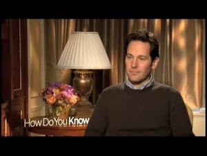 Paul Rudd (How Do You Know) Interview Video Thumbnail