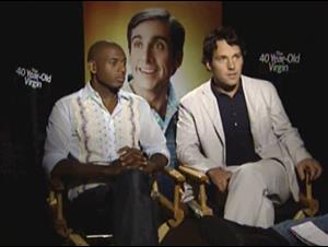 PAUL RUDD & ROMANY MALCO - THE 40 YEAR-OLD VIRGIN Interview Video Thumbnail
