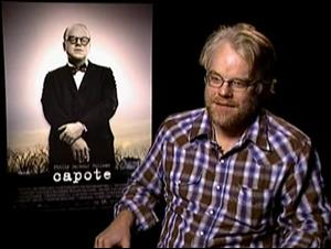 PHILIP SEYMOUR HOFFMAN (CAPOTE) Interview Video Thumbnail