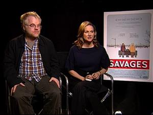 Philip Seymour Hoffman & Laura Linney (The Savages) Interview Video Thumbnail