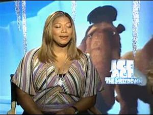 QUEEN LATIFAH (ICE AGE: THE MELTDOWN) Interview Video Thumbnail
