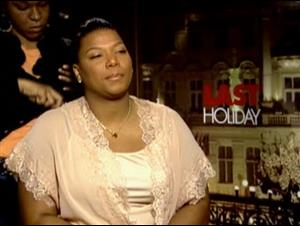 QUEEN LATIFAH (LAST HOLIDAY) Interview Video Thumbnail
