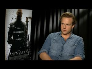 Rafe Spall (Anonymous) Interview Video Thumbnail