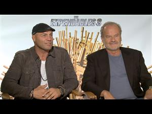 Randy Couture & Kelsey Grammer (The Expendables 3) Interview Video Thumbnail