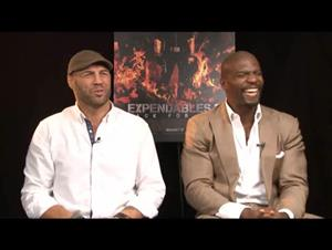 Randy Couture & Terry Crews (The Expendables 2) Interview Video Thumbnail