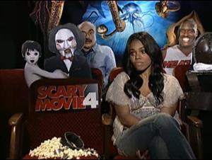 regina hall scary movie 4 interview celebrity interviews
